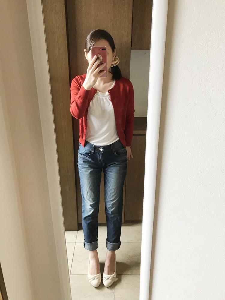エアークローゼットの服を実際に着てみました