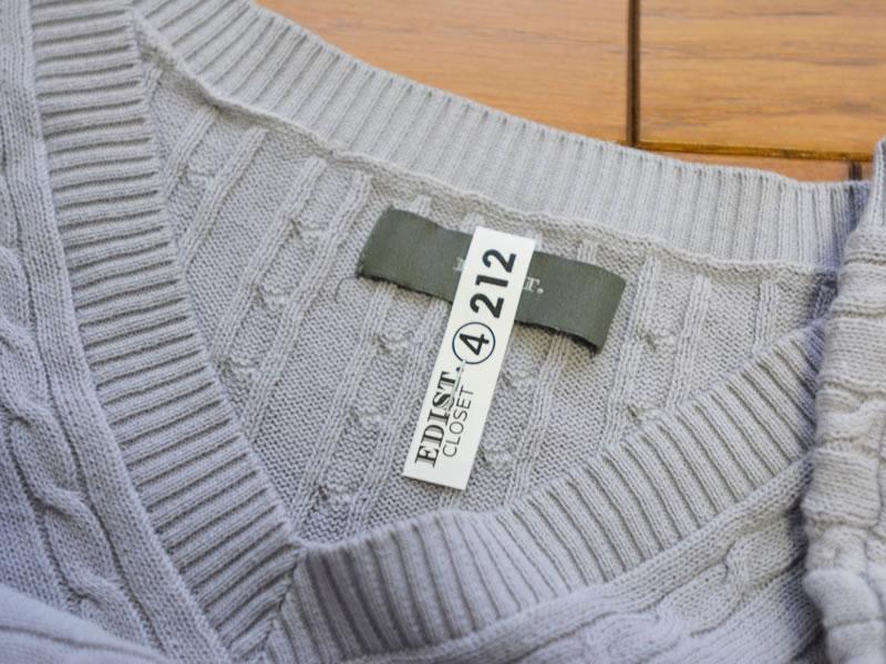 エディストクローゼットの服2