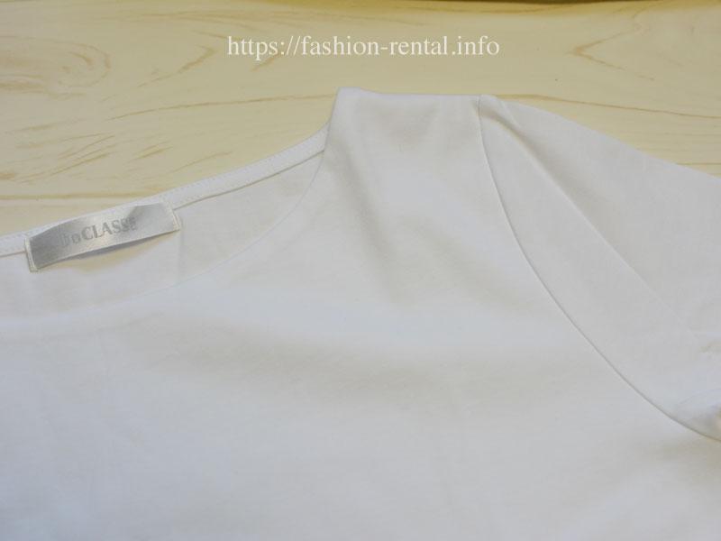 ドゥクラッセTシャツは下着が透けない